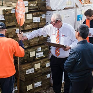 Timber + Building Materials Auction